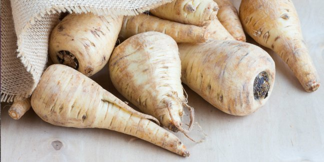 Phot of parsnips for mums curried parsnip soup