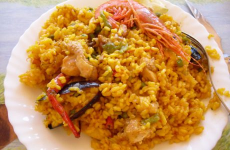 Image of Vixxy P's Ridiculously Easy Paella