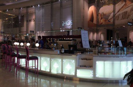 Two Bottles In Restaurant Review L'Orchidee Westfield London UK